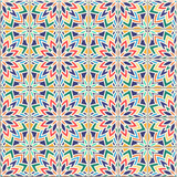 Coloful Vector seamless pattern, based on traditional wall and floor tiles Mediterranean style. - 198966186