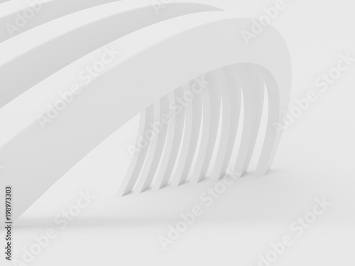 abstract-of-white-curved-architectural-pattern-background-concept-of-future-modern-facade-design-on-architecture-3d-rendering