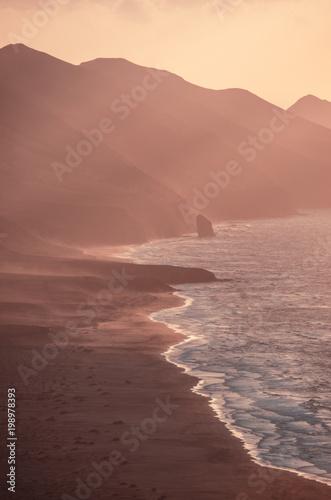 Foto op Aluminium Zalm ocean landscape (sunset)