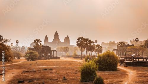 Foto  Angkor Wat Temple, Siem reap, Cambodia