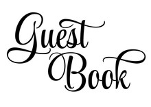 Guest Book - Lettering