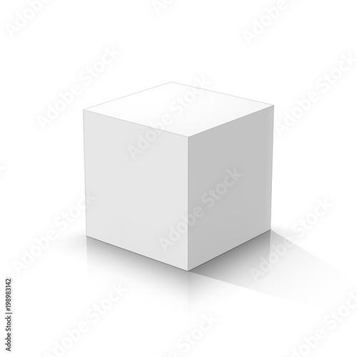 Fototapeta White cube