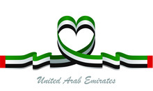 United Arab Emirates Flag And ...