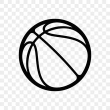 Basketball Logo Vector Icon Is...