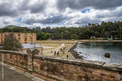 Fotografía  Scenic view of old buildings Port Arthur, Tasmania, Australia