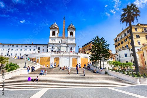 Foto  Piazza di Spagna, Rome, Italy