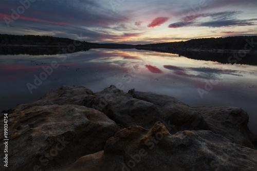 Cuerda del Pozo reservoir at Soria, Duero river