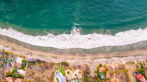 Fototapeta beach aerial obraz