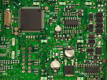 Close-up Of Electronic Circuit...