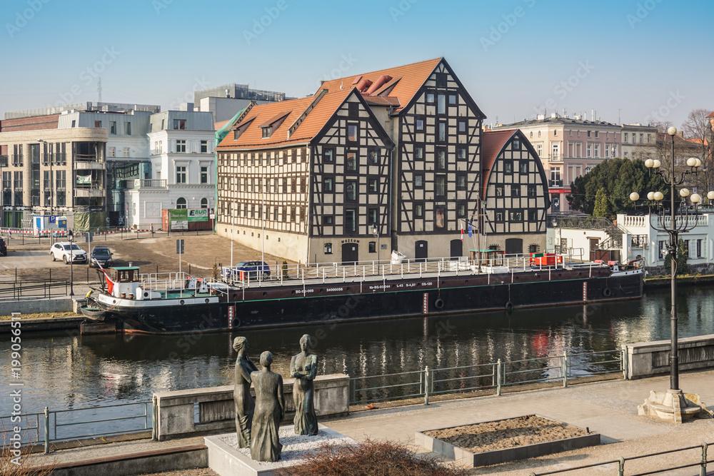 Fototapety, obrazy: Bydgoszcz Stary Port