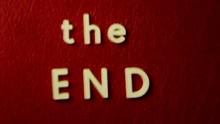 The End Vintage Film Ending Ti...