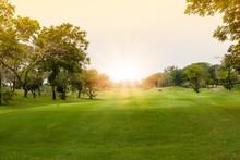 Beautiful Landscape Of Golf Co...
