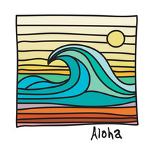 Hawaii Beach, Surfer Poster