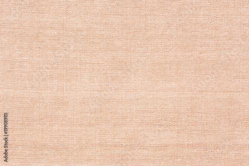 Fotografia, Obraz  Pale brown cotton fabric texture