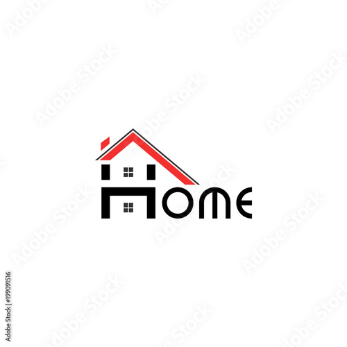 Abstract Real Estate House Apartment Building Logo Vector Design