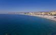 coastline of Marseille city, France