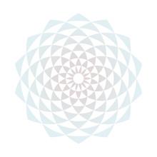 Circular Fractal Design Element