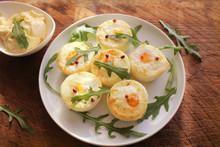 Breakfast Egg Muffins. Egg Cups