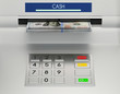 Atm machine keypad