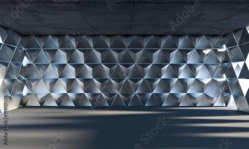 triangle geometric room © tiero