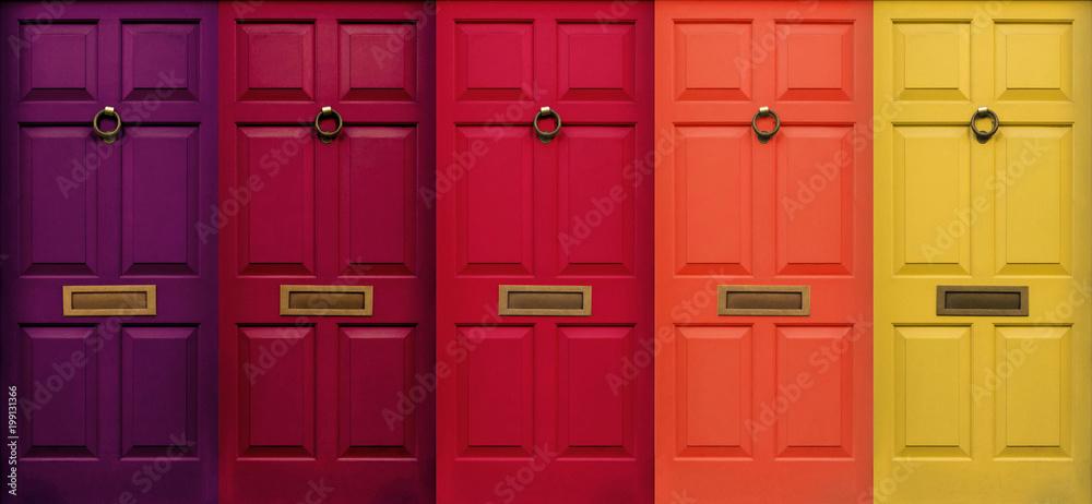 Fototapety, obrazy: London Door