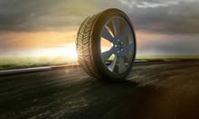 Reifen Auf Rennstrecke