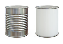 Tin Can Mock Up, Aluminum Can ...