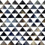 Czarny trójkąt wzór - 199150140