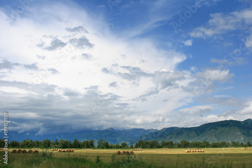 The Most Beautiful Altai Mountains Are Drowning In Low