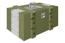 Army Ammunition Box. Green Mil...