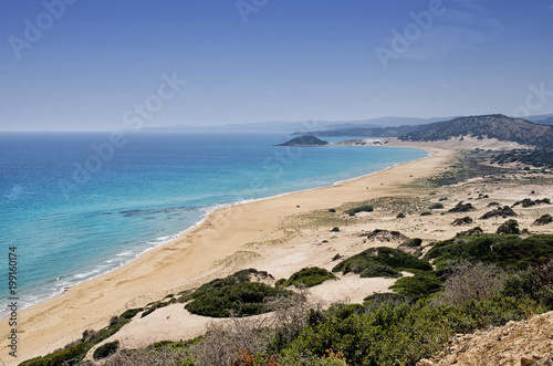 Foto op Canvas Cyprus Golden Beach the best beach of Cyprus, Karpas Peninsula, Cyprus
