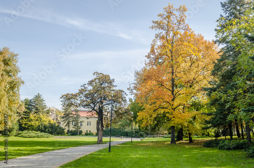 Foto op Aluminium Pistache Villa near the park in Novi Sad - Serbia