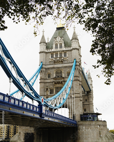 Foto op Aluminium Londen Tower Bridge in London.