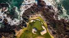Drone View Of The Pebble Beach...