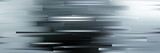 Fototapeta Abstrakcje - Panoramic abstract futuristic gray background.