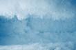 Leinwanddruck Bild - icy frost background in freezer