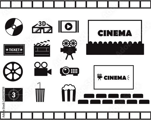 Photo 映画シネマのアイコン素材