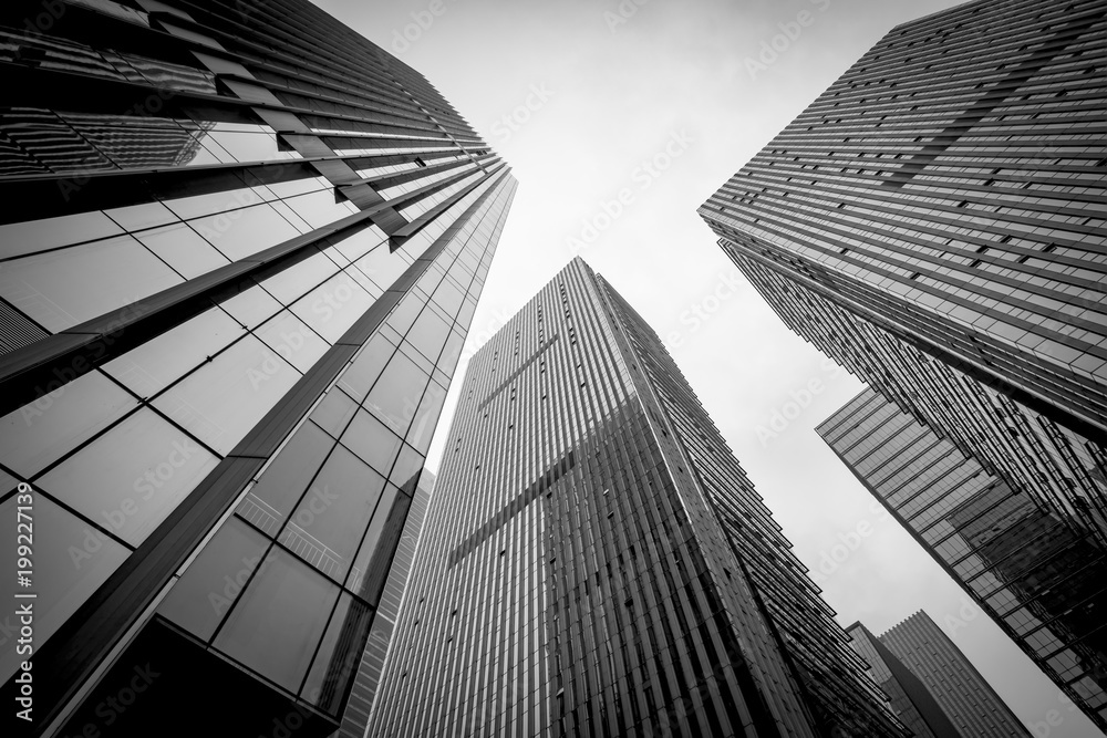 Fototapety, obrazy: Black-and-white building