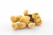 Classic teddy bear. Brown teddy.