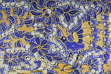 Indonesian Batik Fabric Patter...