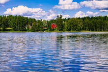 A Traditional Finnish Wooden C...