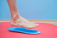 Foot On Orthopedic Insoles Med...