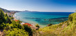 Beautiful sunny view of one of the Zakynthos cities, Greece