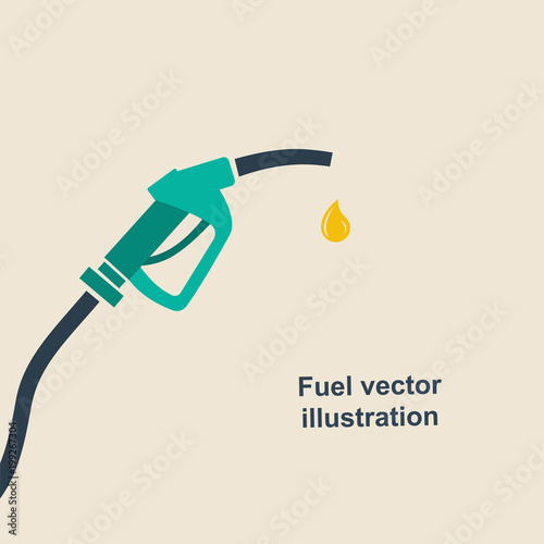 Fotografie, Tablou Fuel pump icon