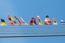 Colorful Flags Set