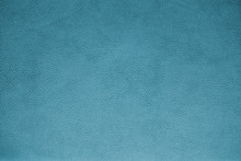 Turquoise Leather Texture Design Subtle Modern Soft Blue Cloth Material Background
