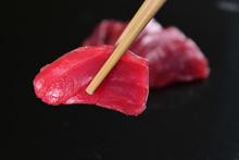 Macro Shot Of Sushi, Sashimi,...