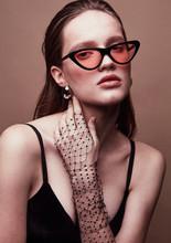 Fashion Portrait Of Beautiful ...