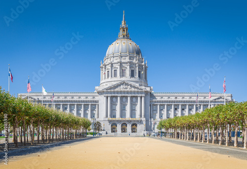 Canvas Prints San Francisco San Francisco City Hall, California, USA
