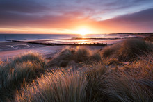 Sunrise, Blyth Beach,Northumbe...